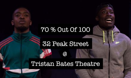 32 Peak Street 'A richly imaginative and well written piece' – 70% Out Of 100