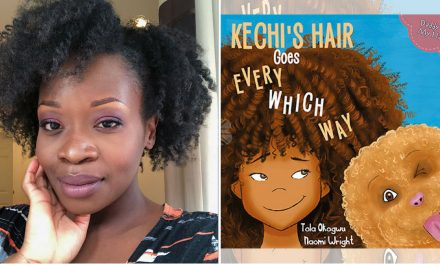 TBB Talks to Blogger & Author of new book series 'Daddy Do My Hair' Tola Okogwu