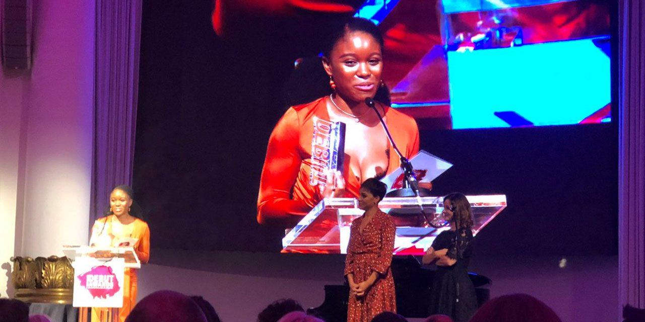 Amara Okereke Wins at the Debut Stage Awards!