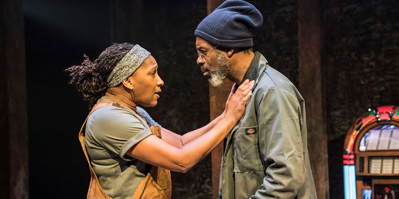 Donmar Theatre production 'Sweat'  – 100% Out of 100