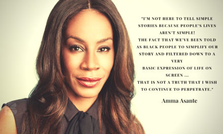 TBB Talks touches hands with …  Amma Asante