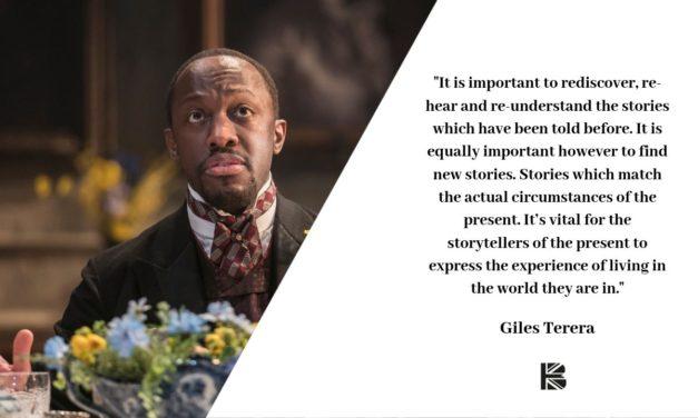 TBB Talks To… Giles Terera