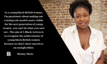 TBB Talks to … Shonay Shote the photographer behind 'A Black Actress' campaign