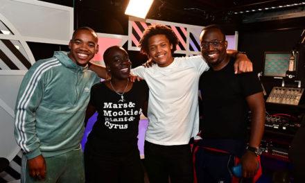 TBB Talks to Jovian Wade, Percelle Scott & Tafara Makopa for BBC Radio 1Xtra