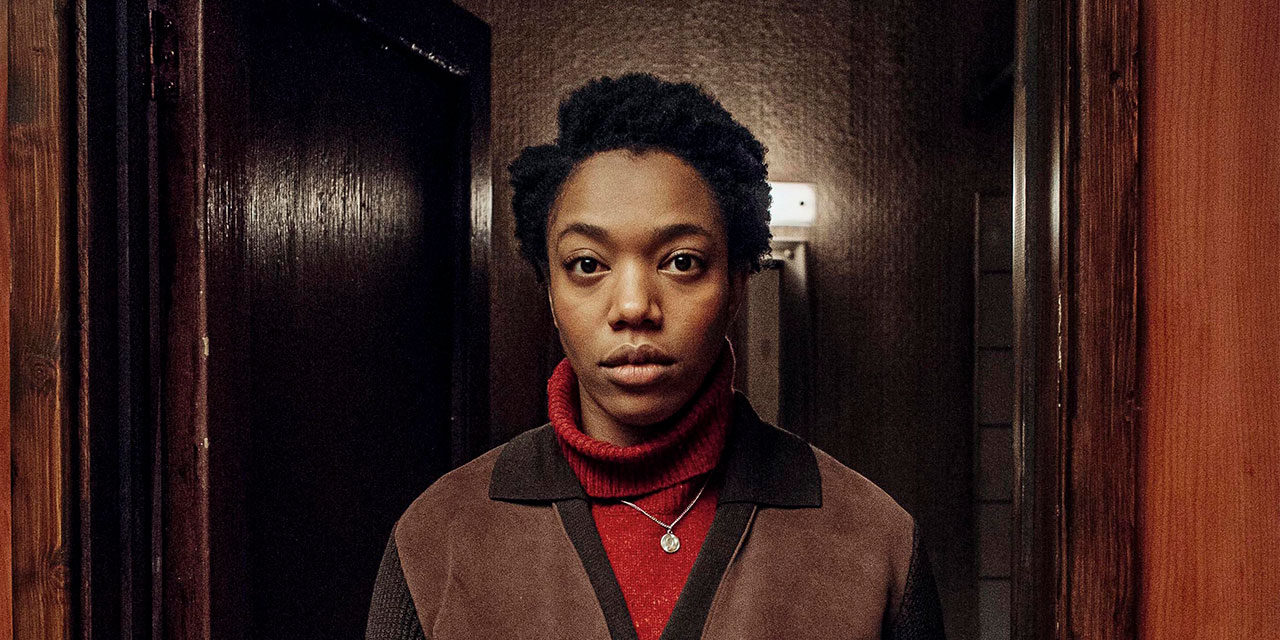 See Naomi Ackie in character for Series 2 of Channel 4's 'The End of the F***ing World'