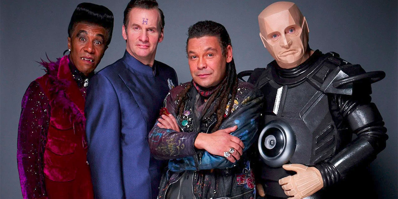 Craig Charles, Danny John Jules & cast land Red Dwarf feature special for DAVE channel