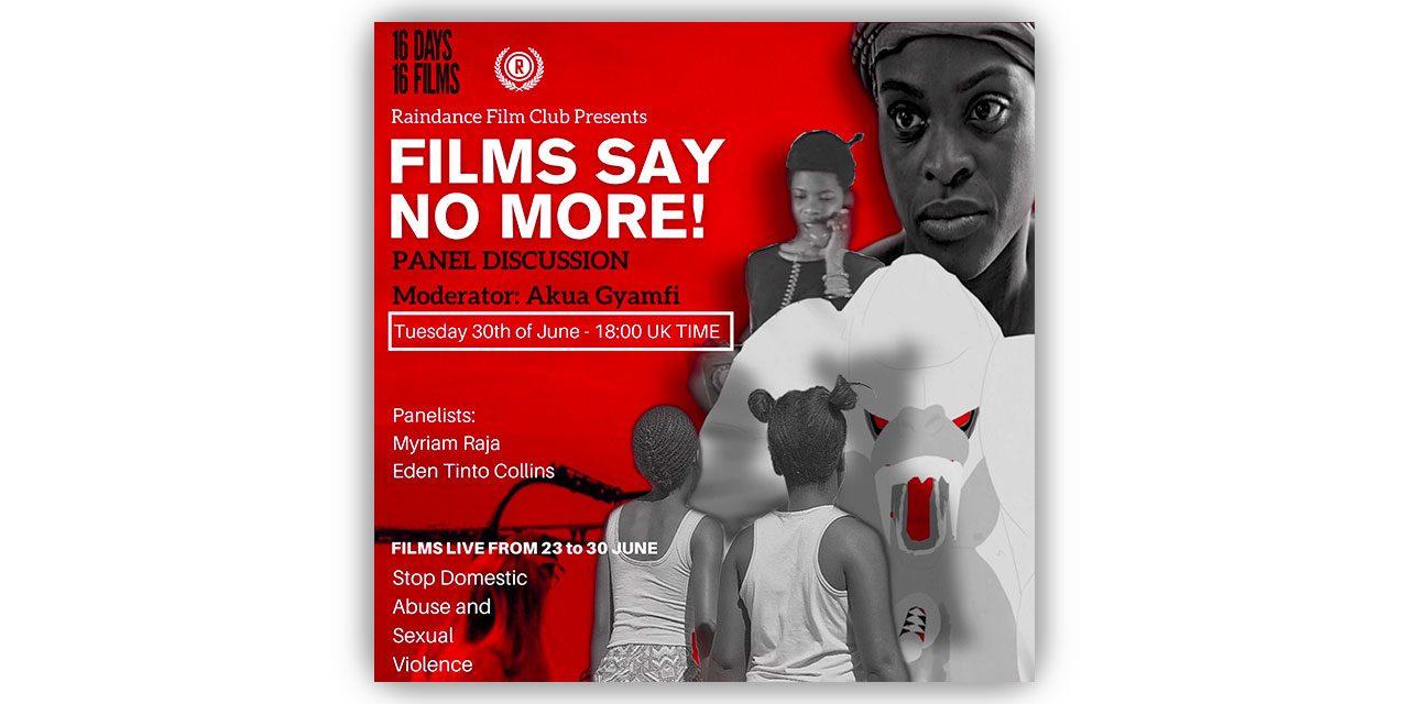 Raindance Film Club Collaborates with 16 Days 16 Films – Online Film Screening & Panel Discussion