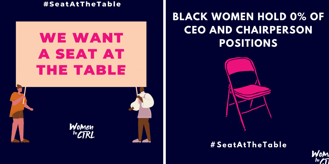 WomEn in CTRL release 'A SEAT AT THE TABLE' Report on diversity in the music industry
