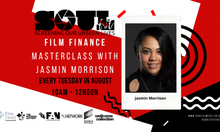 s.o.u.l fest 2020 – film finance masterclass with jasmin morrison