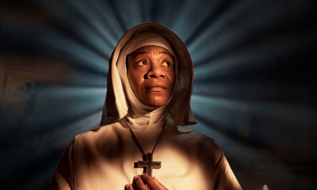 Karen Bryson MBE stars as Sister Phillipa in BBC and FX's mini-series Black Narcissus