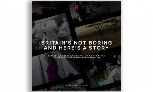 Netflix launches Documentary Talent Fund to inspire and discover a new generation of filmmakers