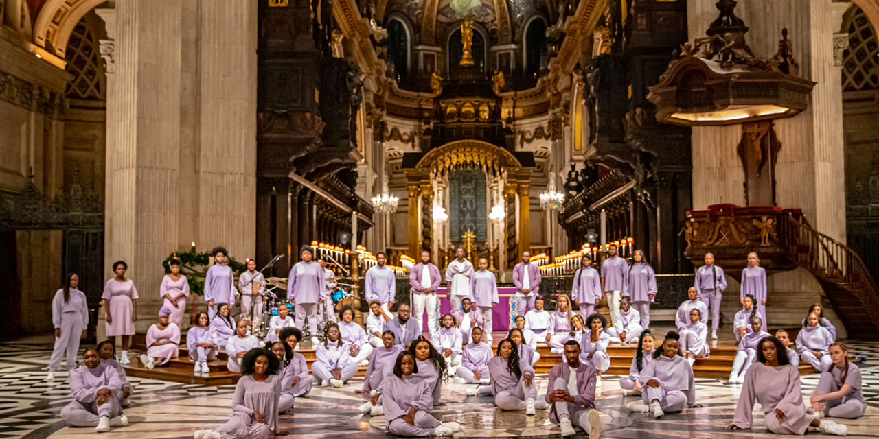 Junior Garr & The Spirituals Choir reimagine traditional Christmas carols at St. Pauls Cathedral