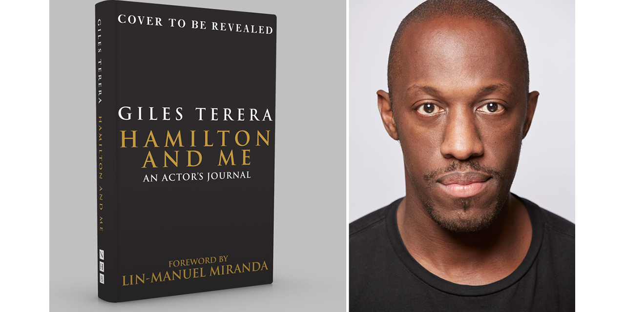 Award-winning stage star Giles Terera pens book about hamilton