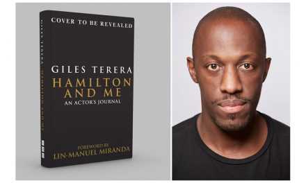 Award-winning stage star Giles Terera pens book about hamilton